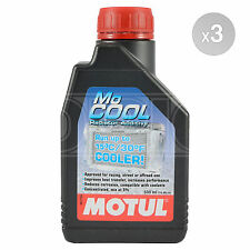 Motul Mo Cool Coolant MoCool Additive for Motorcycles - Road & Track 3 x 500ml