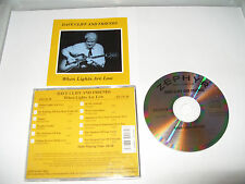 Dave Cliff - When the Lights Are Low (1998) CD - FREE FASTPOST
