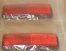 2  stick  long red reflectors motorbike caravans motor  trailers mots  x 2 09