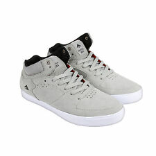 Emerica The Hsu G6 Mens Grey Suede High Top Lace Up Sneakers Shoes 9