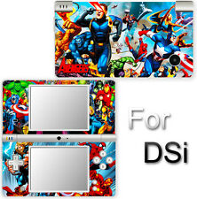 Iron Man Captain America Spider Man Avengers SKIN STICKER COVER for Nintendo DSi