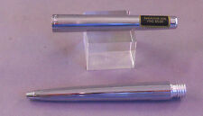 Sheaffer Bright Chrome Rocker Clip  Ball Pen--new old stock--stickered cap