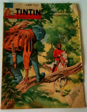 Journal de Tintin 671 - 31/08/61 Le chevalier blanc en danger ?/Avion Militaire