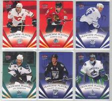 ROBERTO LUONGO VANCOUVER CANUCKS GOALIE 08-09 FLEER ULTRA FRANCHISE PLAYERS #FP3