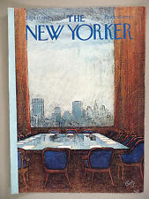 The New Yorker Magazine - September 17, 1973 ~ front cover only ~ Arthur Getz