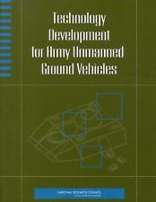 Technology Development for Army Unmanned Ground Vehicles, , National Research Co