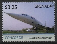 British Airways/BA CONCORDE G-BOAC Manchester Airport/Airliner Aircraft Stamp #2