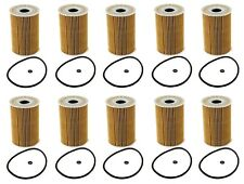 Mercedes W164 W166 W211 Sprinter Mahle Set of 10 Oil Filter Kit NEW 6421800009