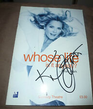 KIM CATTRALL SIGNED WHOSE LINE IS IT ANYWAY THEATRE PROGRAMME SEX AND THE CITY