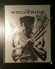 Stan Lee Mr. MARVEL Signed Autographed Wolverine Steel book DVD Bluray AUTHENTIC