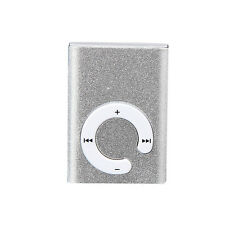 New Silver Mini Clip Metal USB MP3 Player Support Micro SD TF Card Music Media 1