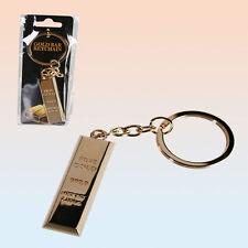 1 Llaveros Colgante De Bolso Diseño Lingotes Oro @ Elegante @ NUEVO @