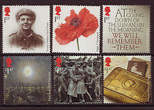 GREAT BRITAIN 2014 THE GREAT WAR 1914 SET OF 6 UNMOUNTED MINT, MNH