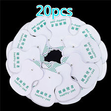 20X Electrode Pads For Tens Acupuncture Digital Therapy  Machine Massager
