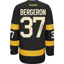 Patrice Bergeron Boston Bruins Signed Autographed 2016 Winter Classic Jersey