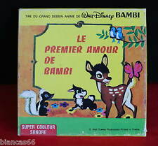 *** FILM SUPER 8 COULEUR SONORE 60 METRES - WALT DISNEY / BAMBI ***