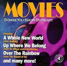 Songs You Know by Heart: Movies by Various Artists (CD, Mar-1998, Unison)