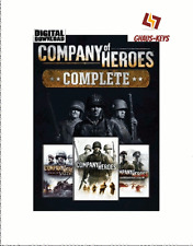 Company of Heroes complete Pack Steam key PC Game código global envío rápido []