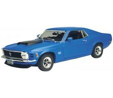 1:18 1979 Ford Mustang Boss 429 in Blue Diecast Model Car By Welly CHEAP