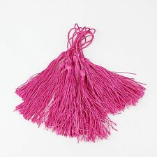 Pack Of 10 13cm Luxury Silky Tassels - Craft, Sewing, Decoration, Costume