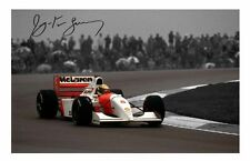 AYRTON SENNA AUTOGRAPHED SIGNED A4 PP POSTER PHOTO 2