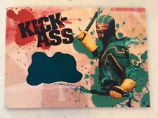 KICK ASS MOVIE DF 2010 AARON JOHNSON KICK-ASS GREEN COSTUME WARDROBE RELIC CARD