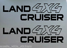 200mm PAIR LAND CRUISER 4X4 offroad series wagon Car parts Decal Stickers For