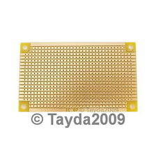 2 x Prototyping PCB Circuit Board Stripboard 94x53mm C