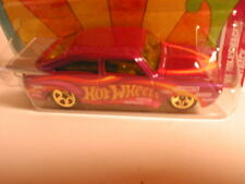 "Hotwheels 2012 ""Cars of the Decades"" #14 the `60`s 65 VOLKSWAGON FASTBACK purple"