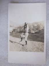 1900/10's era Baseball Pitcher postcard Real Photo