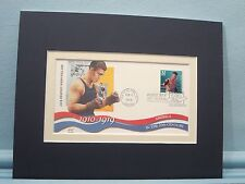 Heavyweight Champion Jack Dempsey and the First Day Cover of his own stamp