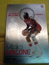 LE STELLE DELLA NBA Gazzetta dello sport MOSES MALONE nr. 38 *Nuovo*