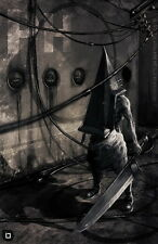 "01 Silent Hill - Pyramid Head Game 14""x22"" Poster"