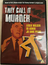 Leslie Nielsen Jessica Walter THEY CALL IT MURDER ~ 1971 Mystery dramma UK DVD