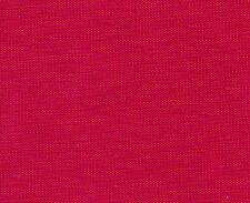 """WATERPROOF POLYESTER 21OT OUTDOOR FABRIC FOR BIBS APRON RAINCOAT SOLID RED 60"""" w"""