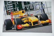 Jerome d'Ambrosio signed 20x30cm Renault Foto Autogramm / Autograph in Person