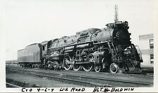 6A865 RP 1940/50s C&O CHESAPEAKE & OHIO RAILROAD ENGINE #306 CINCINNATI OHIO