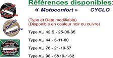 PLAQUE CONSTRUCTEUR  MOTOCONFORT moteur AU42S à AU98   - VIN PLATE MOTOCONFORT