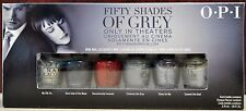 OPI Fifty Shades, 50 Shades of Grey mini set. DD F06, Brand New, Free Shipping.