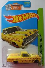 2015 Hot Wheels HW WORKSHOP '65 Ford Ranchero 212/250 (Yellow Version)