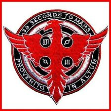 30 Seconds to Mars Phoenix Fire Rare Music Sign Rock Shirt Jacket  Iron on Patch