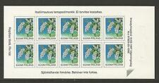 Finland 1997 Provincial Flowers sa sheetlet--Attractive Topical (843) MNH