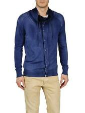 DIESEL K-DIONISO NAVY CARDIGAN SIZE XL 100% AUTHENTIC