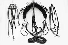 Mini Tiedown Trotting Harness - Black