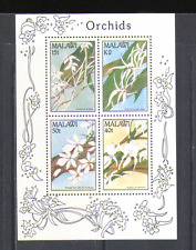 Malawi 1990 Orchids/Flowers/Nature/Plants 4v m/s n14844