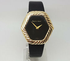 Fabulous 9ct Gold Bueche Girod Handwind Wrist Watch.  Goldmine Jewellers.