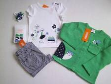 NWT NEW Gymboree 2T 2 Spring Prep Cardigan Tee Shorts Tight Hair 5Pcs