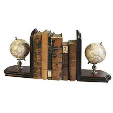 Celestial Terrestrial World Globe Book Ends Pair By Authentic Models New