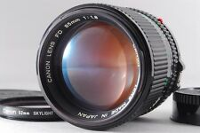 [EXC+++++]Canon New FD 85mm F/1.8 w/Filter From Japan