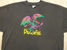 Vtg 2001 DRAGONFIRE Cleveland T-SHIRT XXL Dragonboat Race Festival Paddle Boat